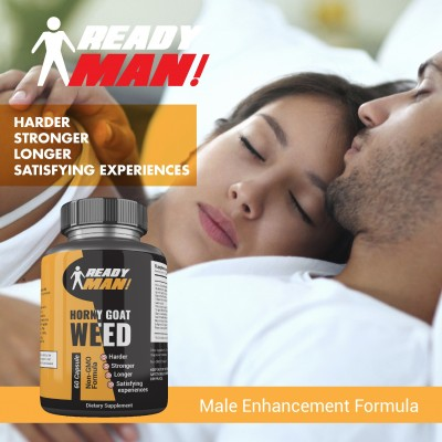 Ready Man ! Supplements - Horny Goat Weed Men Enhancement Formula